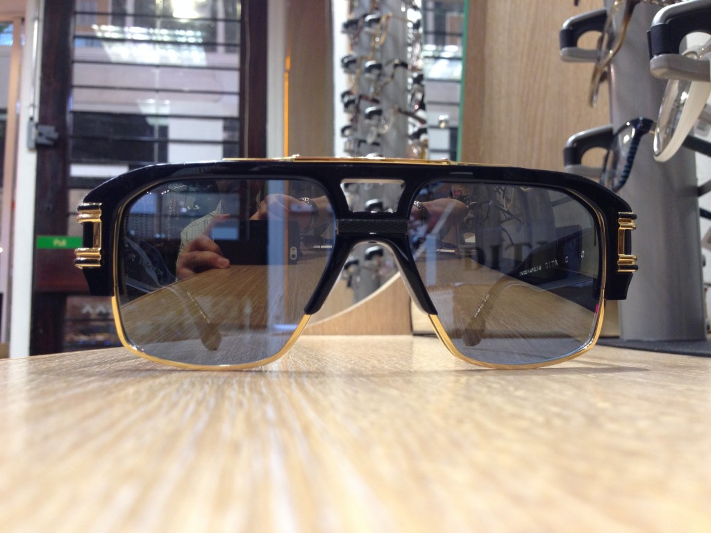 Dita Grandmaster 4 Sunglasses Head on view