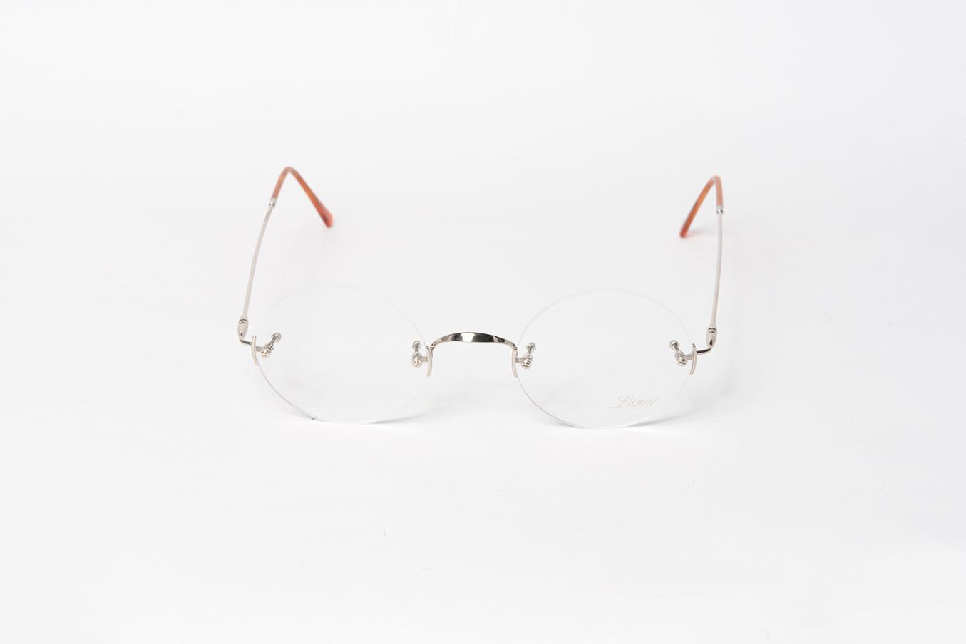 b4085e149c lunor - classic rimless - Piccadilly Opticians -